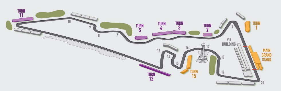 Official cota Map